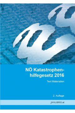 NÖ Katastrophenhilfegesetz 2016