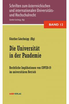 Die Universität in der Pandemie