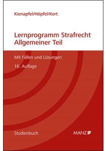 Lernprogramm Strafrecht Allgemeiner Teil