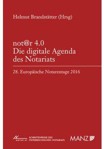 not@r 4.0 Die digitale Agenda des Notariats