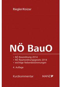 NÖ BauO Niederösterreichische Bauordnung 2014