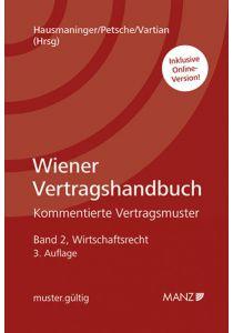 Wiener Vertragshandbuch Wirtschaftsrecht II