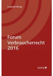 Forum Verbraucherrecht 2016