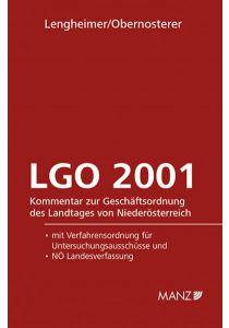 Geschäftsordnung - LGO 2001