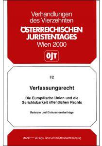 Verfassungsrecht - Referate und Diskussionsbeiträge