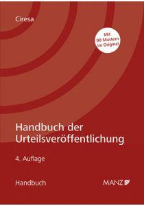 Handbuch der Urteilsveröffentlichung