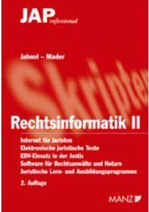 Rechtsinformatik II