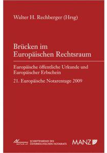 Brücken im Europäischen Rechtsraum