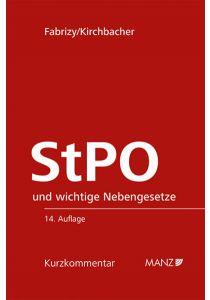Strafprozessordnung - StPO