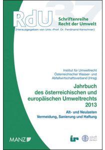 Jahrbuch des österreichischen und europäischen Umweltrechts 2013
