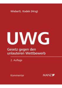Kommentar zum UWG 2.Auflage
