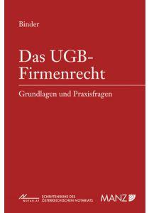 Das UGB-Firmenrecht