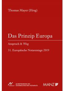 Das Prinzip Europa
