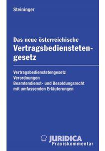Das neue österreichische Vertragsbedienstetengesetz