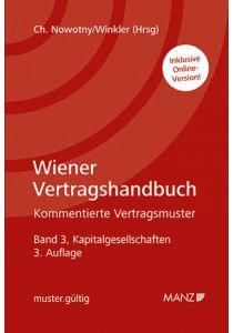 Wiener Vertragshandbuch Kapitalgesellschaften