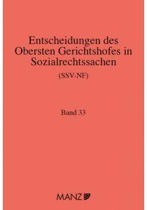 Entscheidungen des obersten Gerichtshofes in Sozialrechtssachen SSV-NF