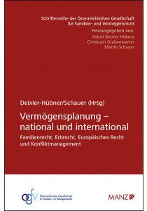 Vermögensplanung - national und international