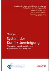 System der Konfliktbereinigung
