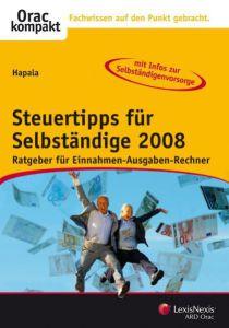 Steuertipps für Selbständige 2008