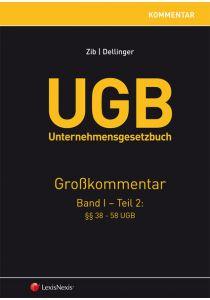 UGB Unternehmensgesetzbuch Kommentar - Band 1/Teil 2