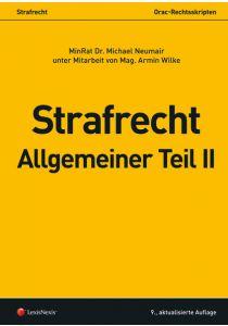 Strafrecht - Allgemeiner Teil II
