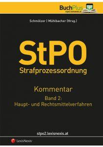 StPO Strafprozessordnung - Kommentar / StPO-Kommentar - Band 2: Haupt- und Rechtsmittelverfahren