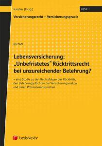 "Lebensversicherung: ""Unbefristetes"" Rücktrittsrecht bei unzureichender Belehrung?"