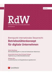 RdW Spezial: Brennpunkt internationales Steuerrecht