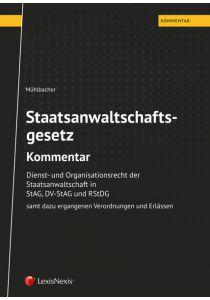 StAG Staatsanwaltschaftsgesetz – Kommentar
