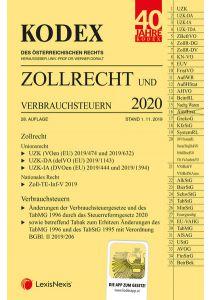 KODEX Zollrecht 2020