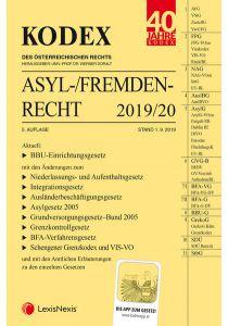KODEX Asyl- und Fremdenrecht 2019/20