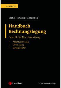 Handbuch Rechnungslegung / Handbuch Rechnungslegung, Band III: Die Abschlussprüfung