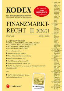 KODEX Finanzmarktrecht Band II 2020/21