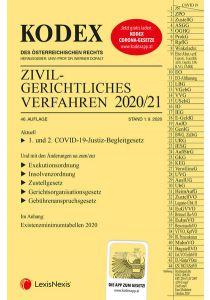 KODEX Zivilgerichtliches Verfahren 2020/21