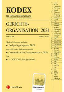 KODEX Gerichtsorganisation 2021