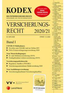 KODEX Versicherungsrecht Band I 2020/21