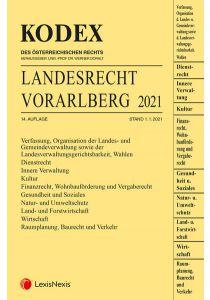 KODEX Landesrecht Vorarlberg 2021