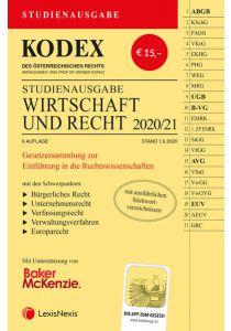 KODEX Wirtschaft und Recht 2020/21