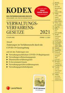 KODEX Verwaltungsverfahrensgesetze (AVG) 2021