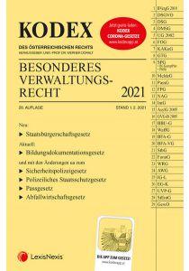 KODEX Besonderes Verwaltungsrecht 2021