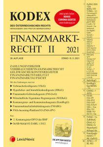 KODEX Finanzmarktrecht Band II 2021