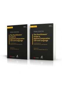 Angloamerikanische Rechtssprache / PAKET: The Practitioners' Guide to Applied Comparative Law and Language