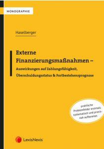 Externe Finanzierungsmaßnahmen - Auswirkungen auf Zahlungsfähigkeit, Überschuldungsstatus & Fortbestehensprognose