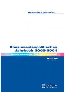 Konsumentenpolitisches Jahrbuch