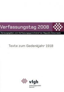 Verfassungstag 2008