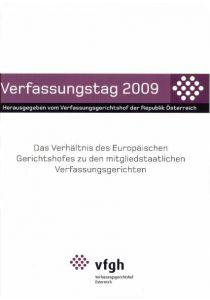 Verfassungstag 2009