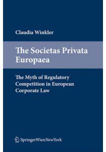 The Societas Privata Europaea