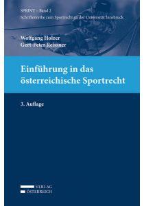 Einführung in das österreichische Sportrecht