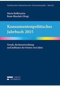 Konsumentenpolitisches Jahrbuch 2015