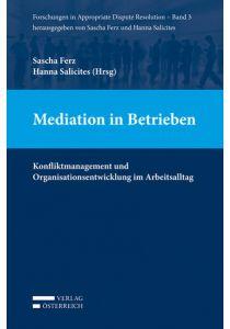 Mediation in Betrieben